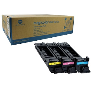 Konica Minolta A0DKJ32 Toner Cartridge Value Pack