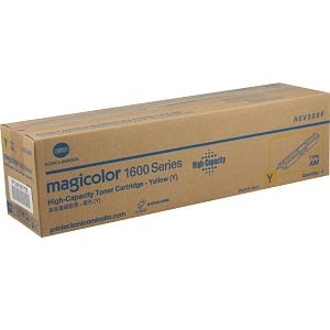 Konica Minolta A0V306F Yellow Toner Cartridge