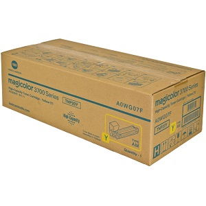 Konica Minolta A0WG07F Yellow Toner Cartridge