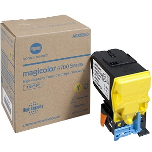 Konica Minolta A0X5230 Yellow Toner Cartridge
