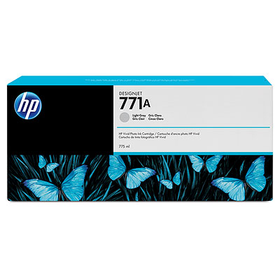 HP B6Y22A Light Gray Ink Cartridge