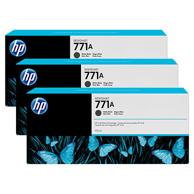 HP B6Y39A Matte Black Ink Cartridge Multipack
