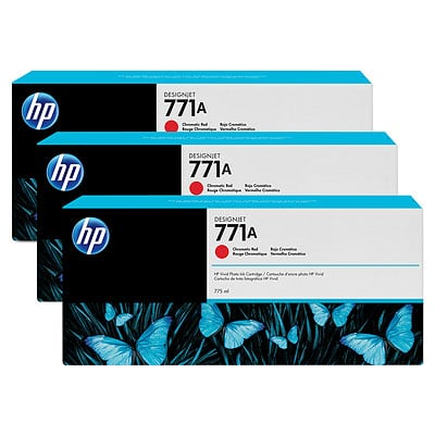 HP B6Y40A Chromatic Red Ink Cartridge Multipack