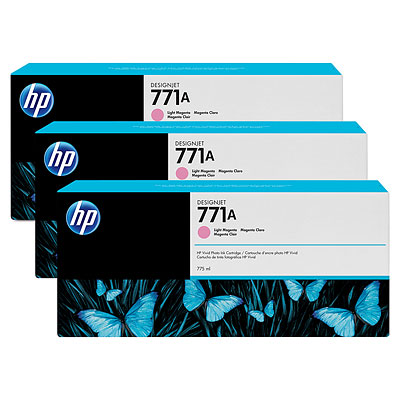 HP B6Y43A Light Magenta Ink Cartridge Multipack