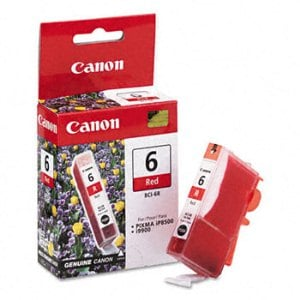 Canon BCI-6R Red Ink Cartridge
