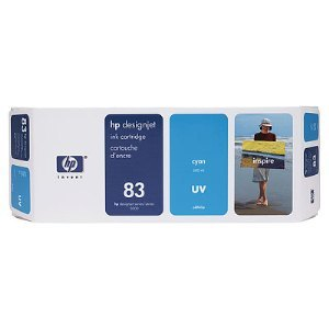 HP C4941A Cyan UV Ink Cartridge