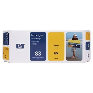 HP C4943A Yellow UV Ink Cartridge
