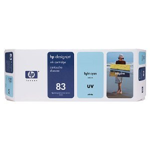 HP C4944A Light Cyan UV Ink Cartridge