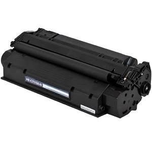 Compatible HP C7115X Black Toner Cartridge