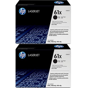 HP C8061D Black Toner Cartridge Dual Pack