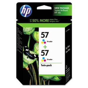 HP C9320FN Tri-Color Ink Cartridge Twin Pack