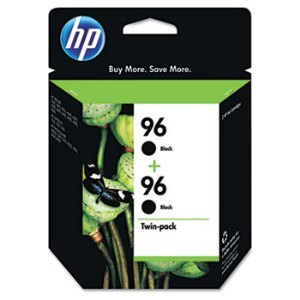 HP C9348FN Black Ink Cartridge Twin Pack
