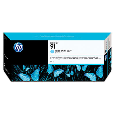 HP C9470A Light Cyan Ink Cartridge