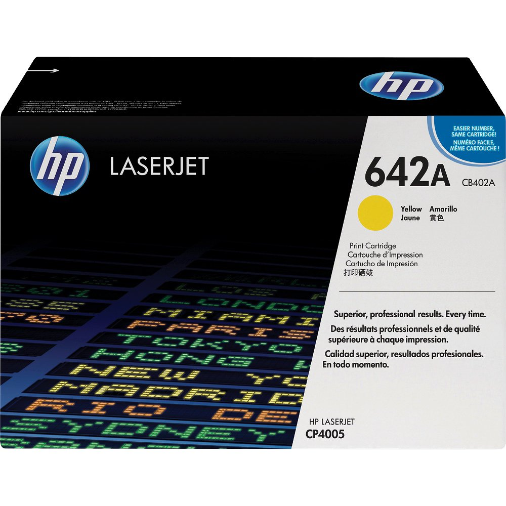 HP CB402A Yellow Toner Cartridge