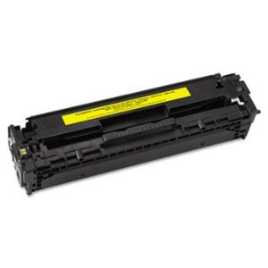 Premium Compatible CB542A Yellow Toner Cartridge