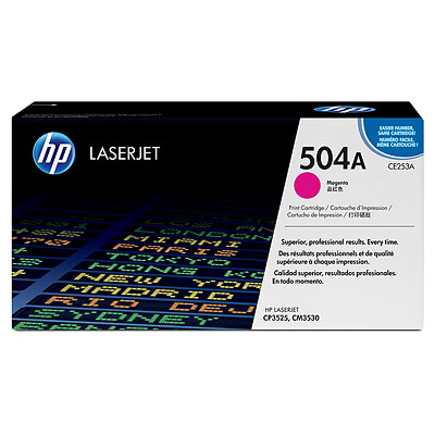 HP CE253A Magenta Toner Cartridge