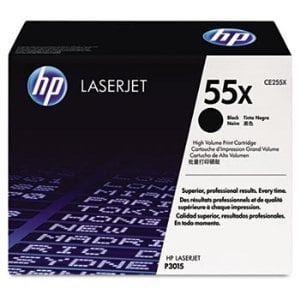HP CE255X Black Toner Cartridge