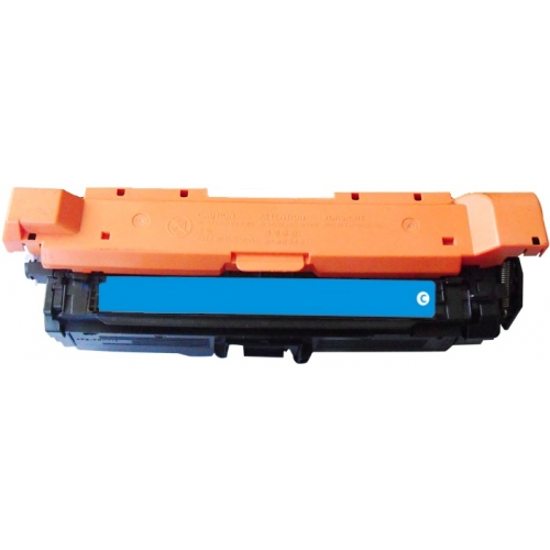 Premium Compatible CE261A Cyan Toner Cartridge