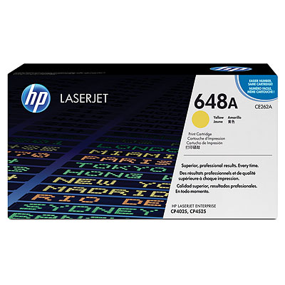 HP CE262A Yellow Toner Cartridge