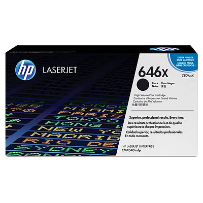 HP CE264X Black Toner Cartridge
