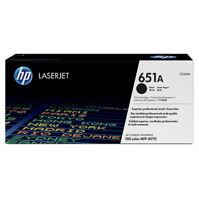 HP CE340A Black Toner Cartridge