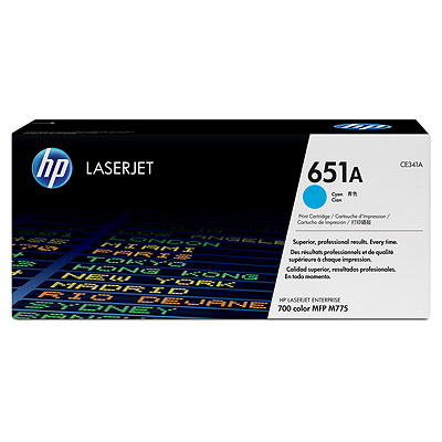 HP CE341A Cyan Toner Cartridge