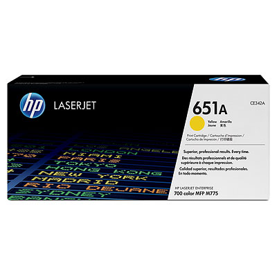 HP CE342A Yellow Toner Cartridge