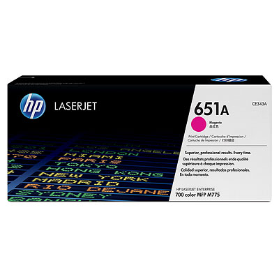HP CE343A Magenta Toner Cartridge