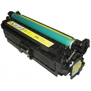 Premium Compatible CE402A Yellow Toner Cartridge