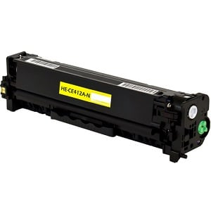Premium Compatible CE412A Yellow Toner Cartridge