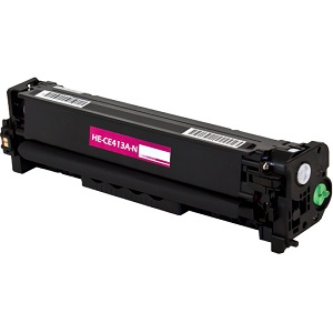 Premium Compatible CE413A Magenta Toner Cartridge
