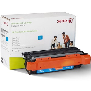 Premium Compatible CF031A Cyan Toner Cartridge