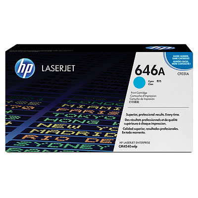 HP CF031A Cyan Toner Cartridge
