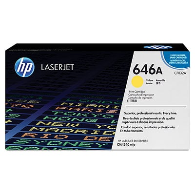 HP CF032A Yellow Toner Cartridge