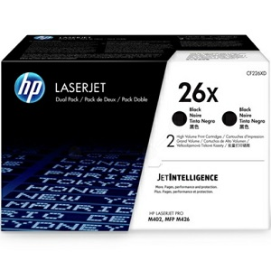 HP CF226XD Black Toner Cartridge Pack
