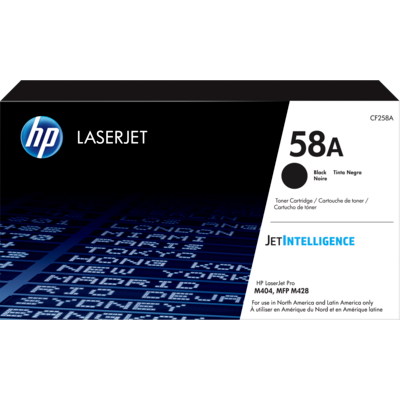 HP CF258A Black Toner Cartridge