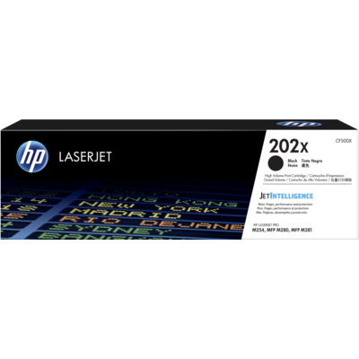 HP CF500X Black Toner Cartridge