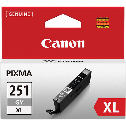 Canon CLI-251GY XL Gray Ink Tank