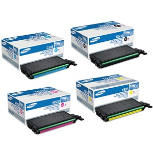 Samsung 508S Toner Cartridge Set
