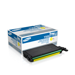 Samsung CLT-Y508S Yellow Toner Cartridge