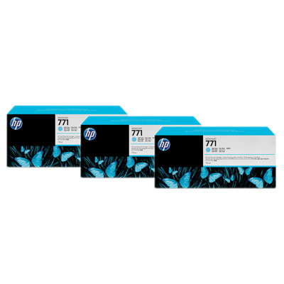 HP CR255A Light Cyan Ink Cartridge Multipack
