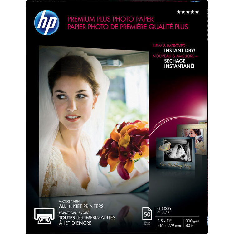 HP CR664A Premium Plus Glossy Photo Paper
