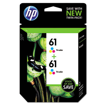 HP CZ074FN Color Ink Cartridge Twin Pack