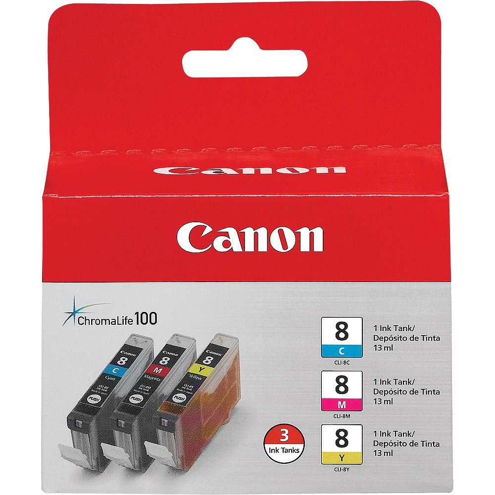 Canon CLI-8 Color Ink Pack