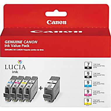 Canon PGI-9 and PGI-7 Value Pack