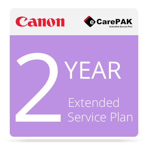 Canon 5707B059 2-year On-Site eCarePAK