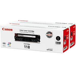 Canon 118 Black Value Pack