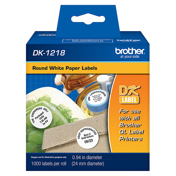 Brother DK1218 Labels