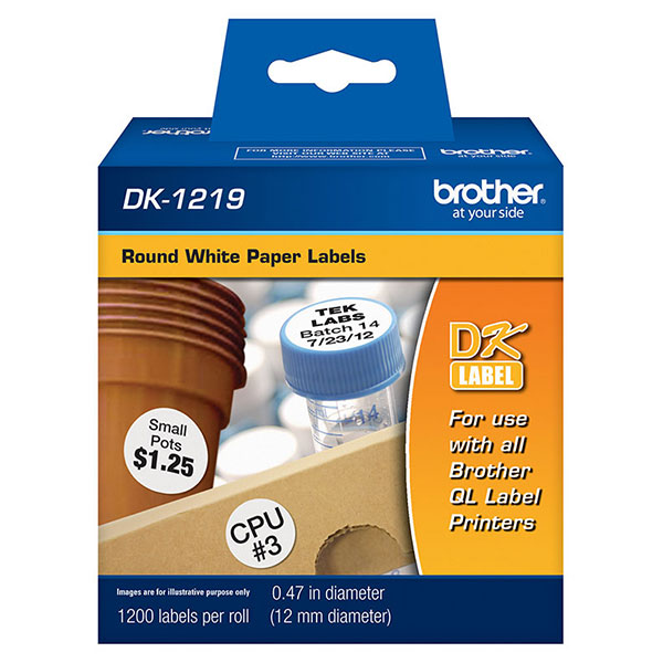 Brother DK1219 Labels