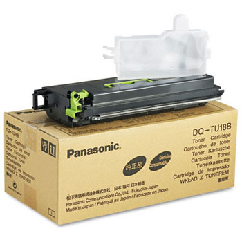 Panasonic DQ-TU18B Black Toner Cartridge